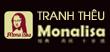 Tranh thêu Monalisa